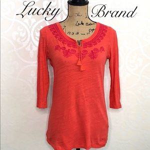 LUCKY BRAND MEDIUM COTTON TOP